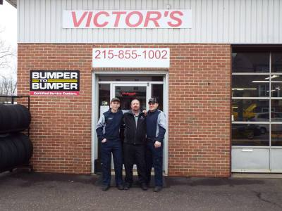 Our repair shop and employees