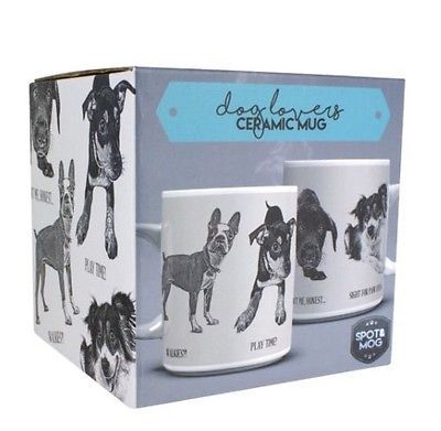 DOG LOVERS CERAMIC MUG