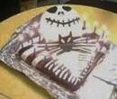 Jack Skelaton Cake