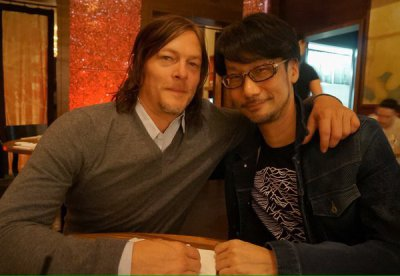 HIDEO KOJIMA REUNITES WITH NORMAN REEDUS