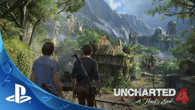 UNCHARTED 4: A Thief's End Gameplay Preview