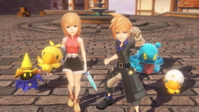 World of Final Fantasy Release Date Announced