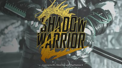 Shadow Warrior 2 Release Date Announced