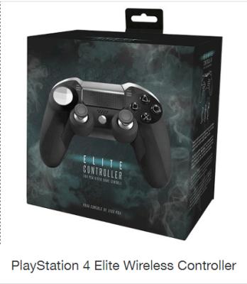 Playstation 4 Elite Controller Listed on Target's Website