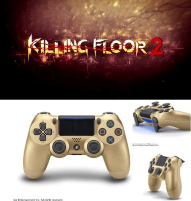 Killing Floor 2 and Gold Dualshock 4 Are Gamestop Exclusives