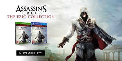 Assassin's Creed: The Ezio Collection Release Date Announced