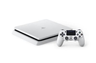 Glacier White PS4 Slim Announced