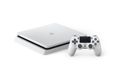 Glacier White PS4 Slim Announced