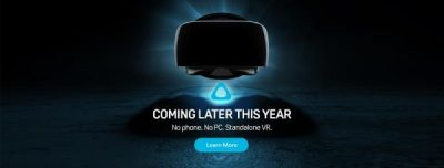 HTC Announces New VR Headset
