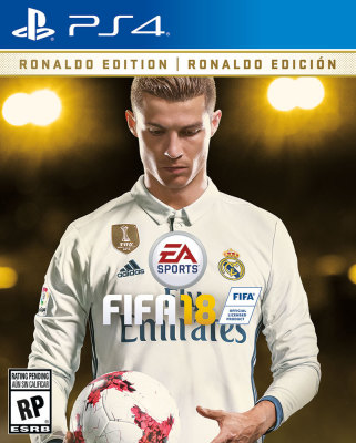 Cristiano Ronaldo Named Cover Athlete for FIFA 18