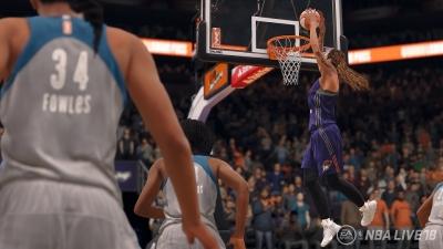 NBA Live 18 To Include WNBA Teams