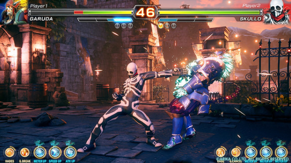 ARIKA's New Fighter Coming to PS4