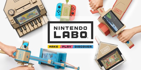 Nintendo Announces Labo; A New Way To Play Your Switch
