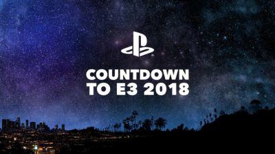 Playstation Announces Countdown to E3 2018