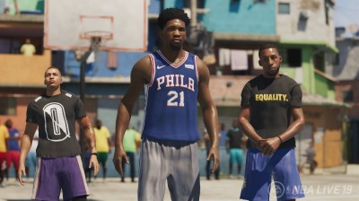 NBA Live 19 Gets A Cover Athlete