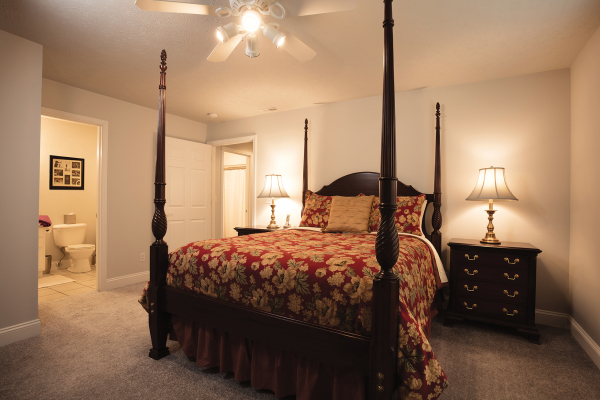 Large Master Bedroom with Full Bath and Walk-in Closet