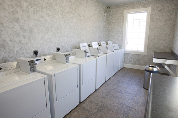 On-Site Laundry Facility (Washer and Dryer Hookups are in Each Unit)