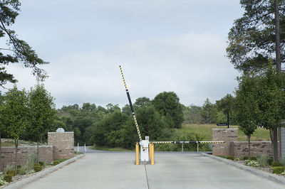 CONTROLLED ACCESS ENTRANCE GATE