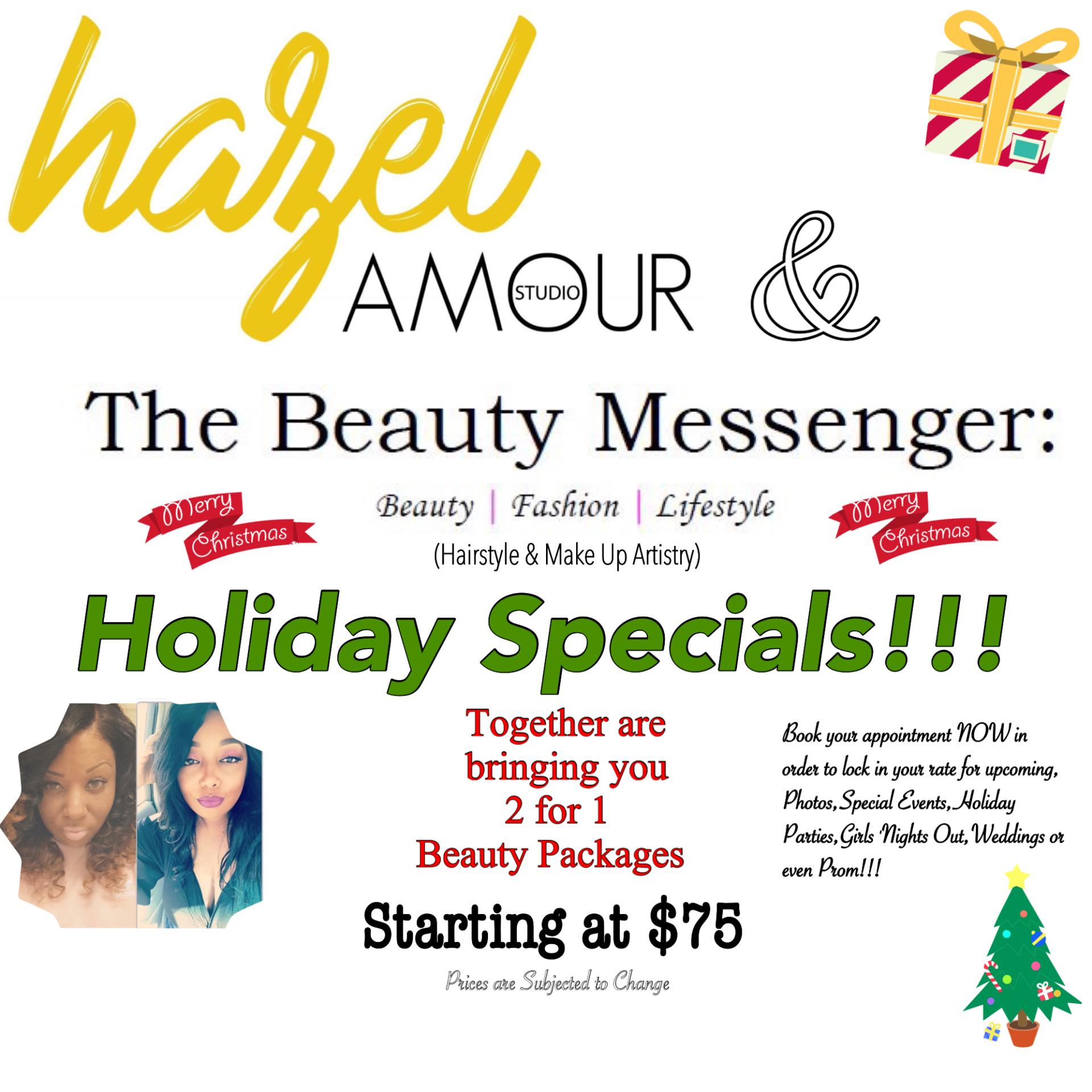 Hazel Amour & The Beauty Messenger Collaboration