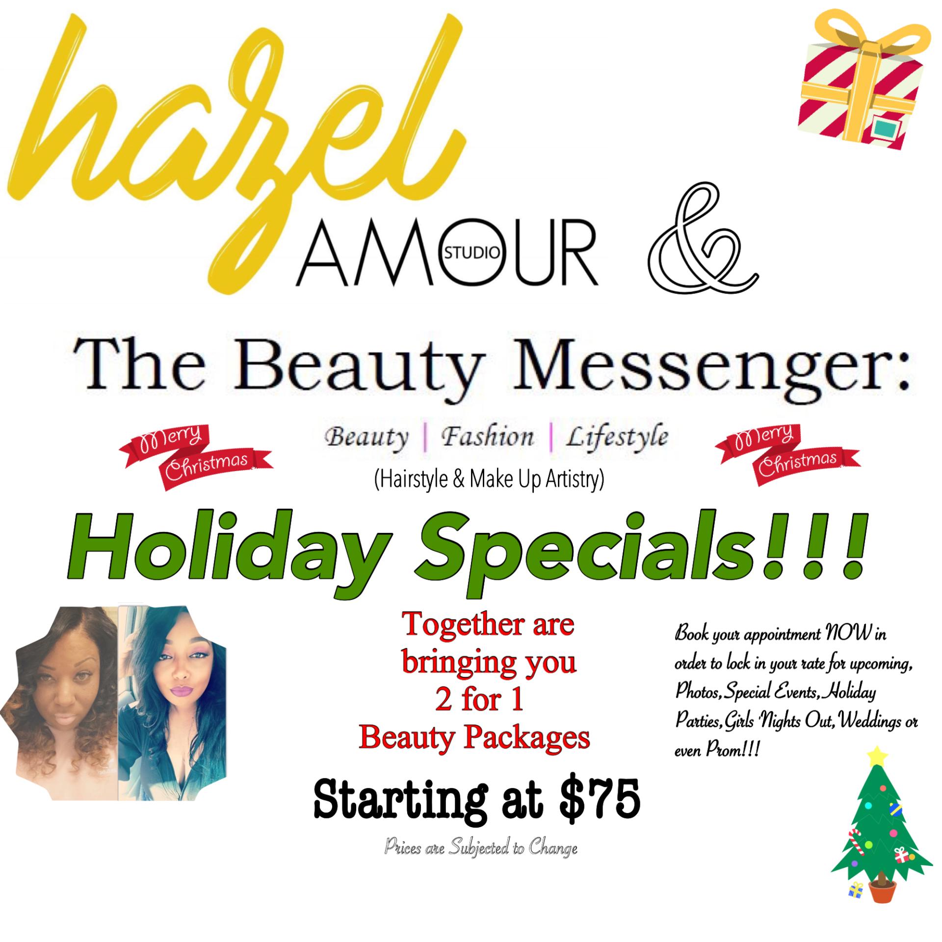 Hazel Amour & The Beauty Messenger Collaboration