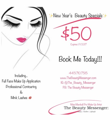 New Year's Beauty Specials