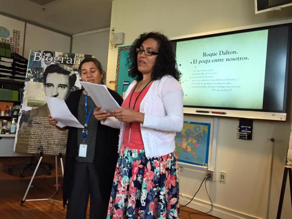 Presentación de la vida y obra del poeta Roque Dalton