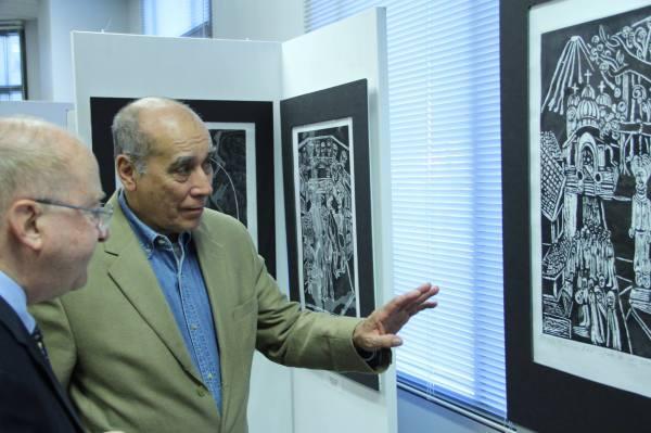 Exhibición del artista Alfredo Milián