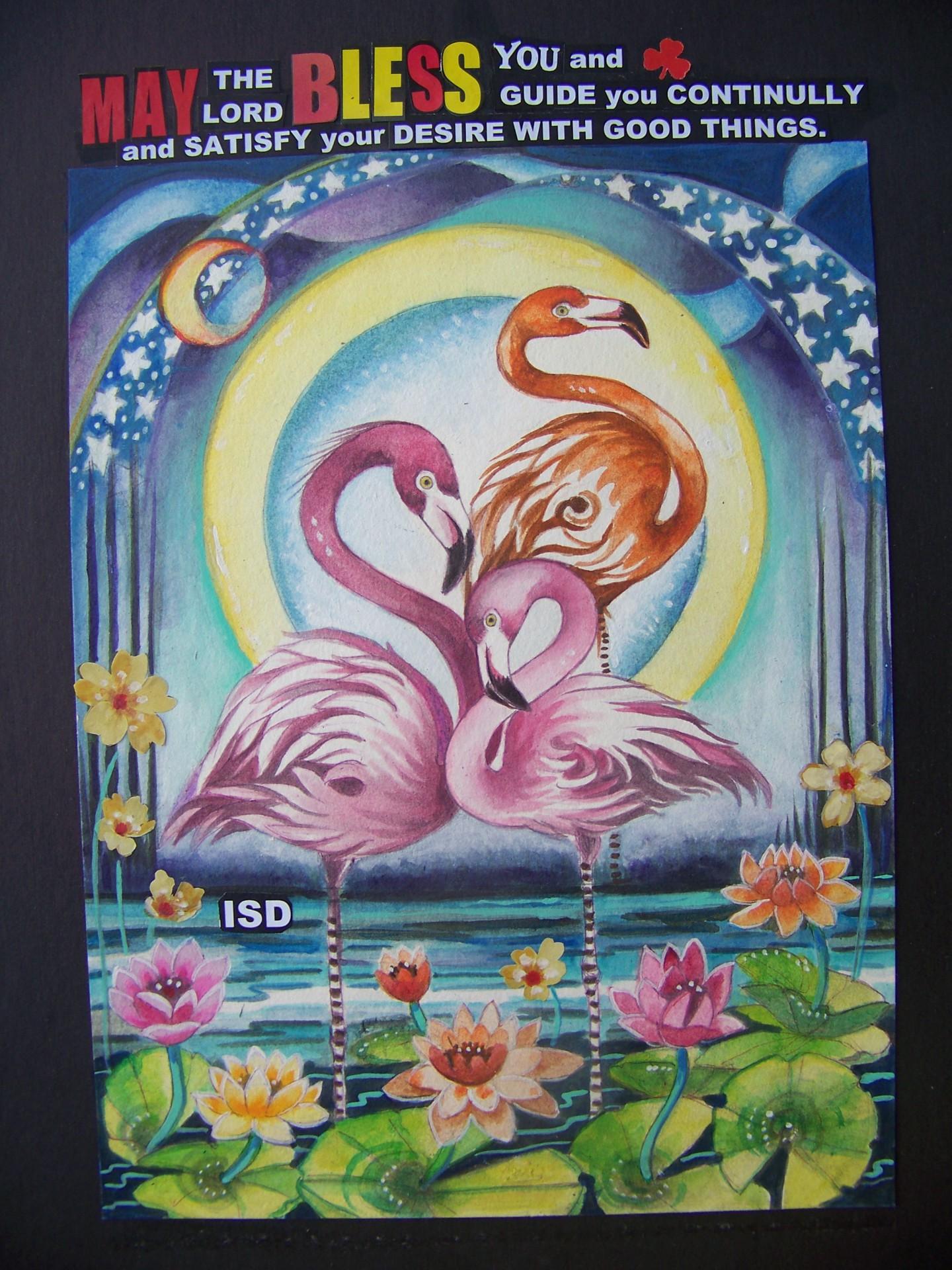 flamingo Blessing