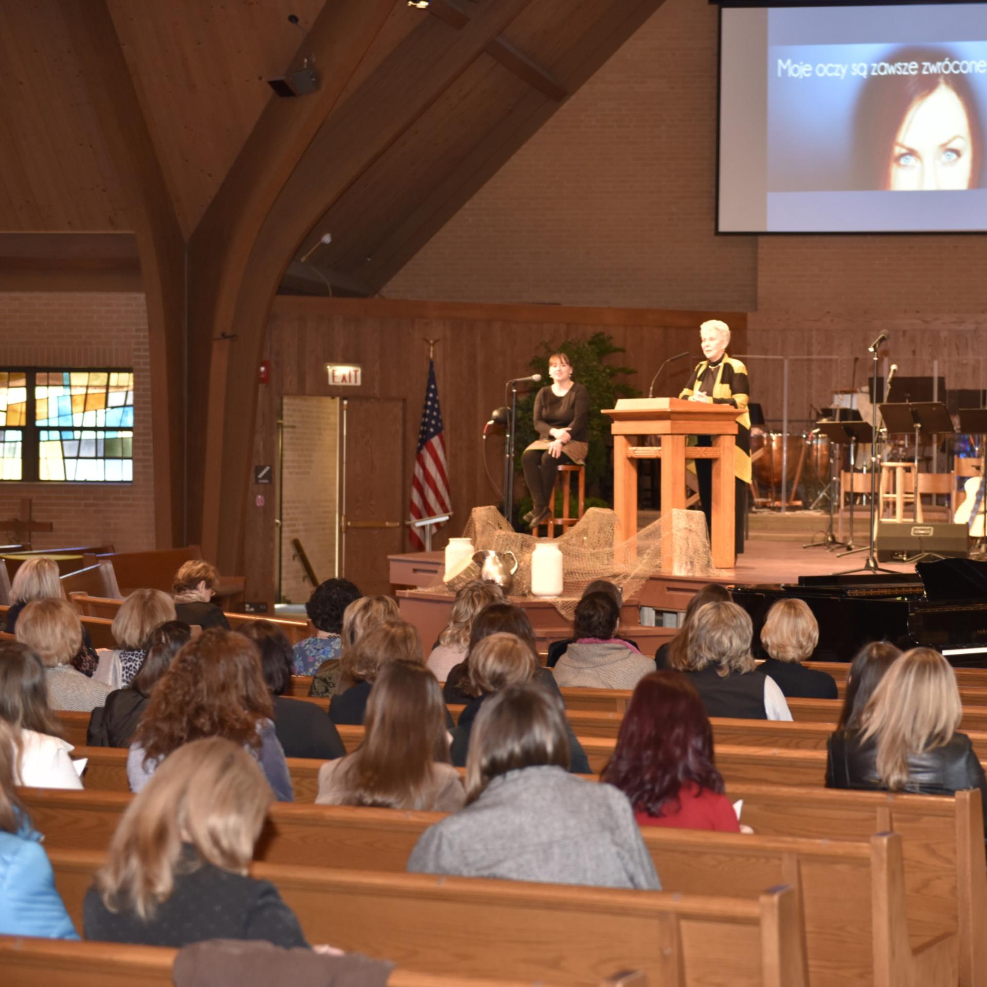 Sesja z Mary Whelchel
