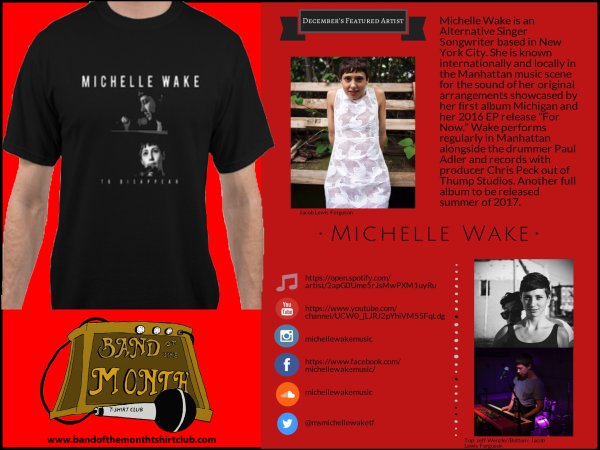 BIOGRAPHY CARD for MICHELLE WAKE