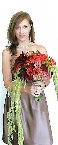 Victorian style bouquet.