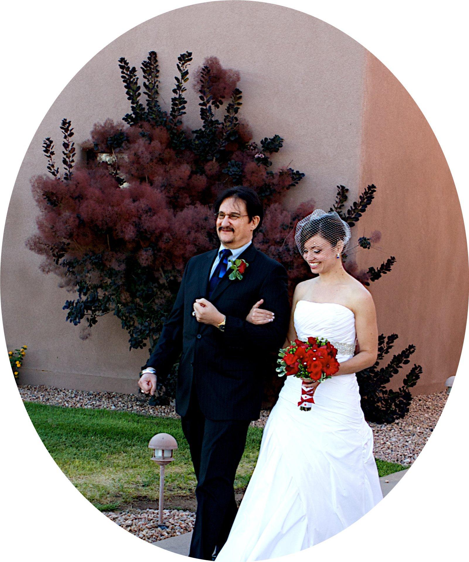 Elegant wedding at Tamaya.