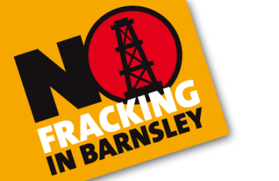 No Fracking in Barnsley
