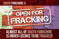 Almost all of South Yorkshire is under licence to be fracked!