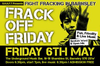 Frack Off Friday