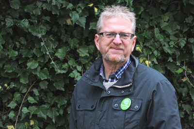 Dale Turner, Green Party candidate for Penistone East