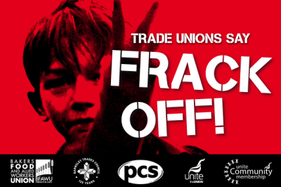 Trade Unions Against Fracking
