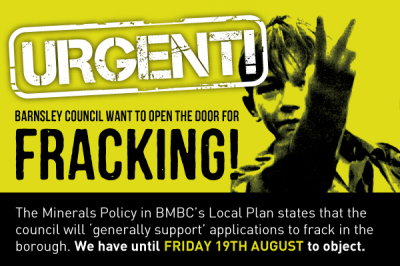 Barnsley Council sneak in fracking!