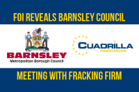 FOI reveals barnsley council meeting with fracking firm