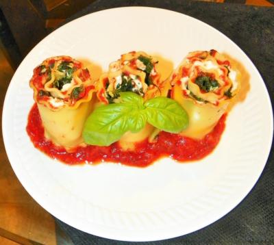 Recipe for Lasagna Rollatini