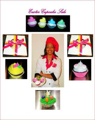 Easter Cupcake Sale 2016