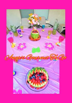 Hawaiian themed Birthday party November 2016