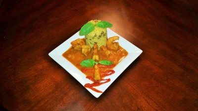 Caribbean Curry Shrimp