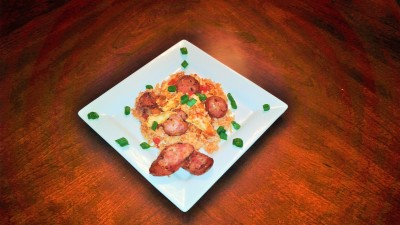 Cajun Andouille sausage and chicken Jambalaya