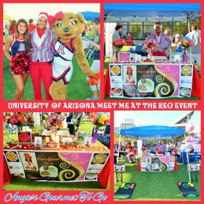 "University of Arizona ""Meet Me At The Rec"" Event Aug. 2017"