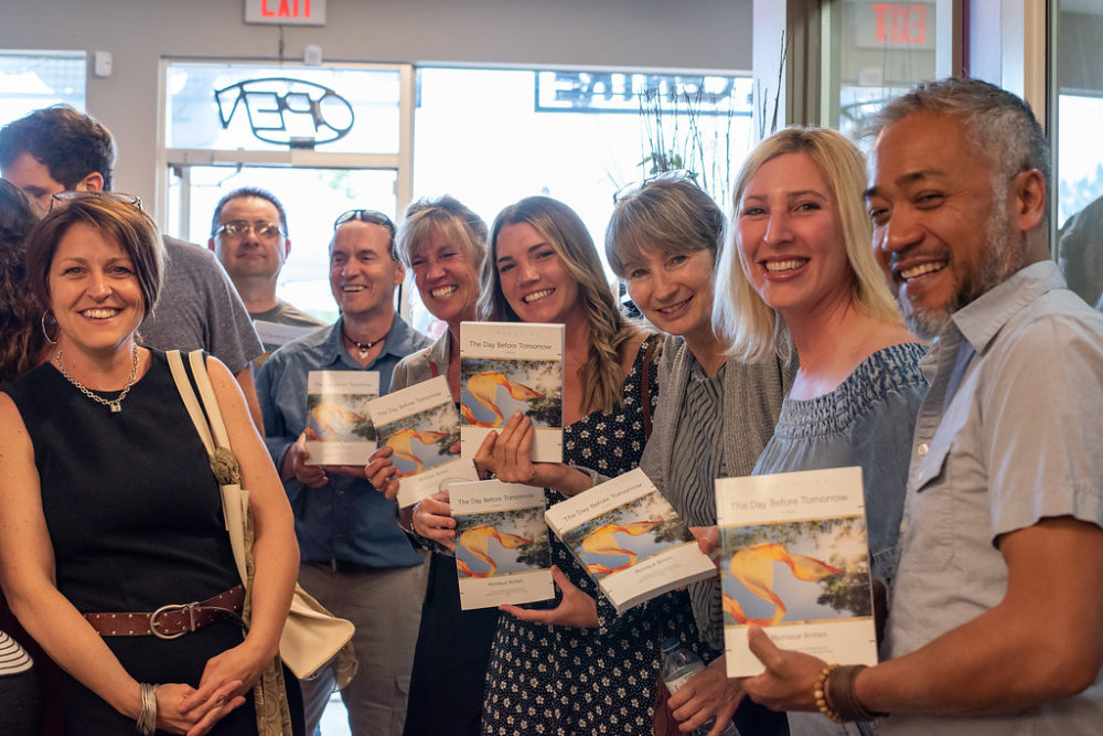 Book Launch Held at Flower Chix!
