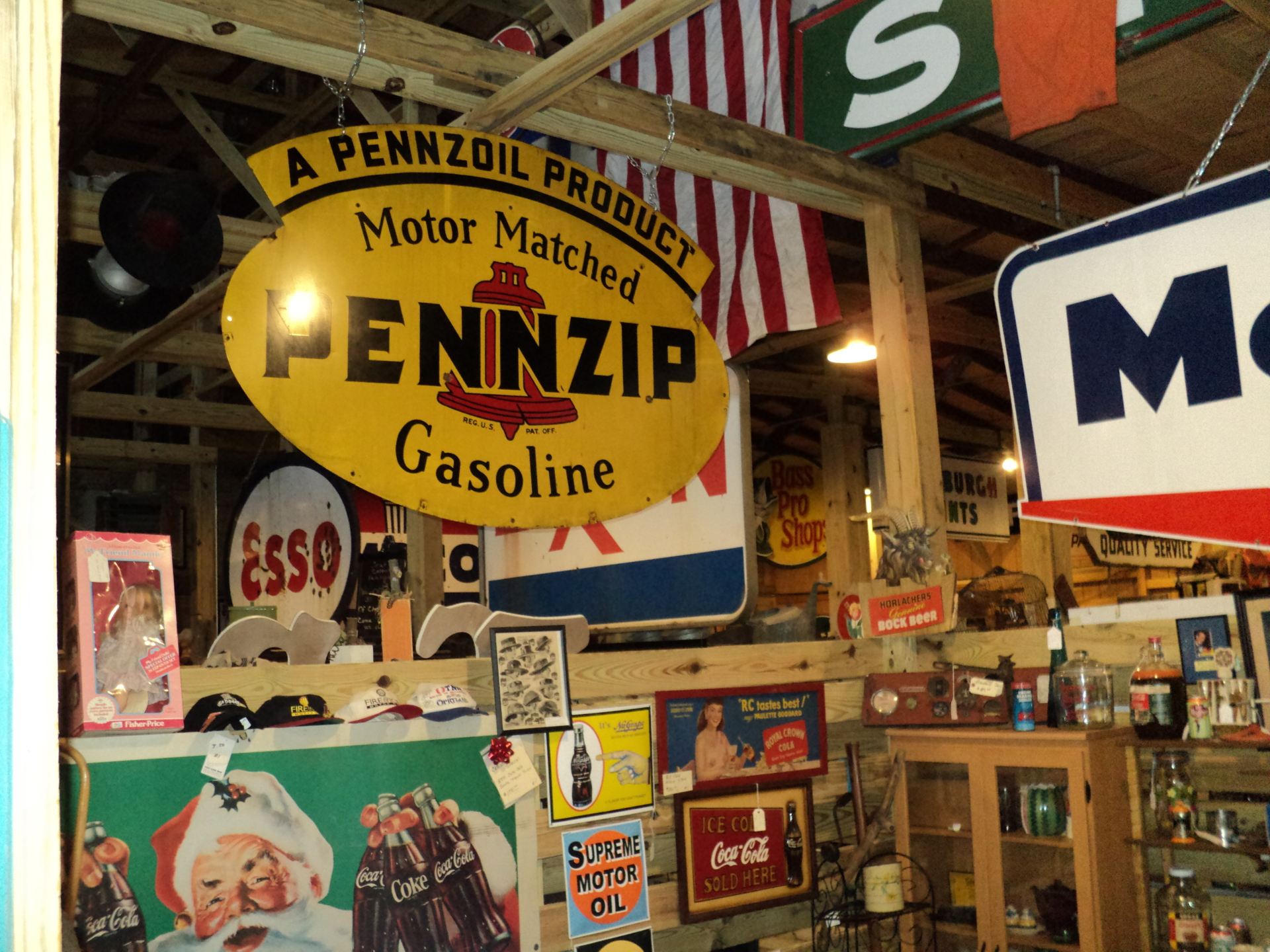 6' Pennzip Sign