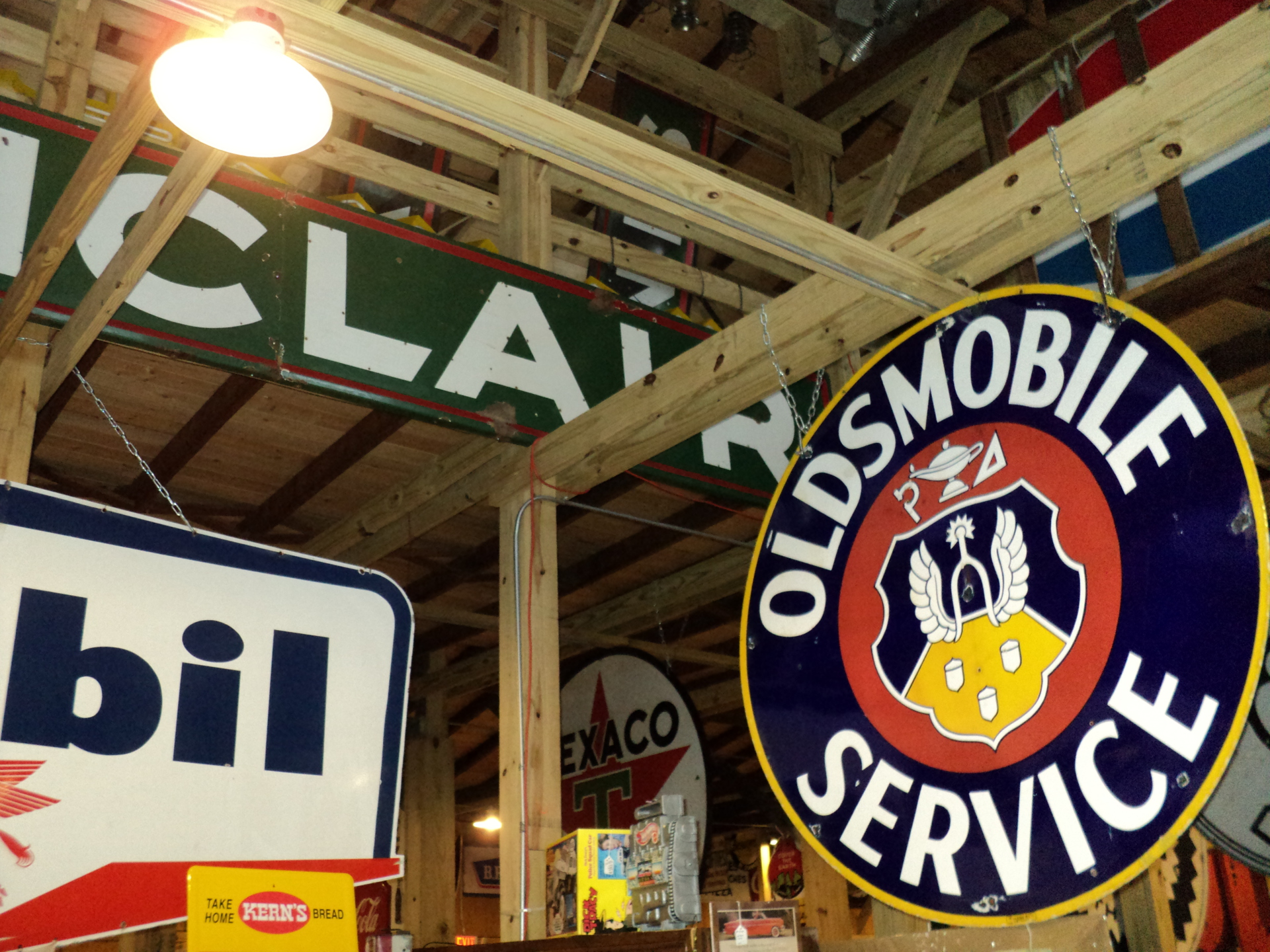 Oldsmobile Sign