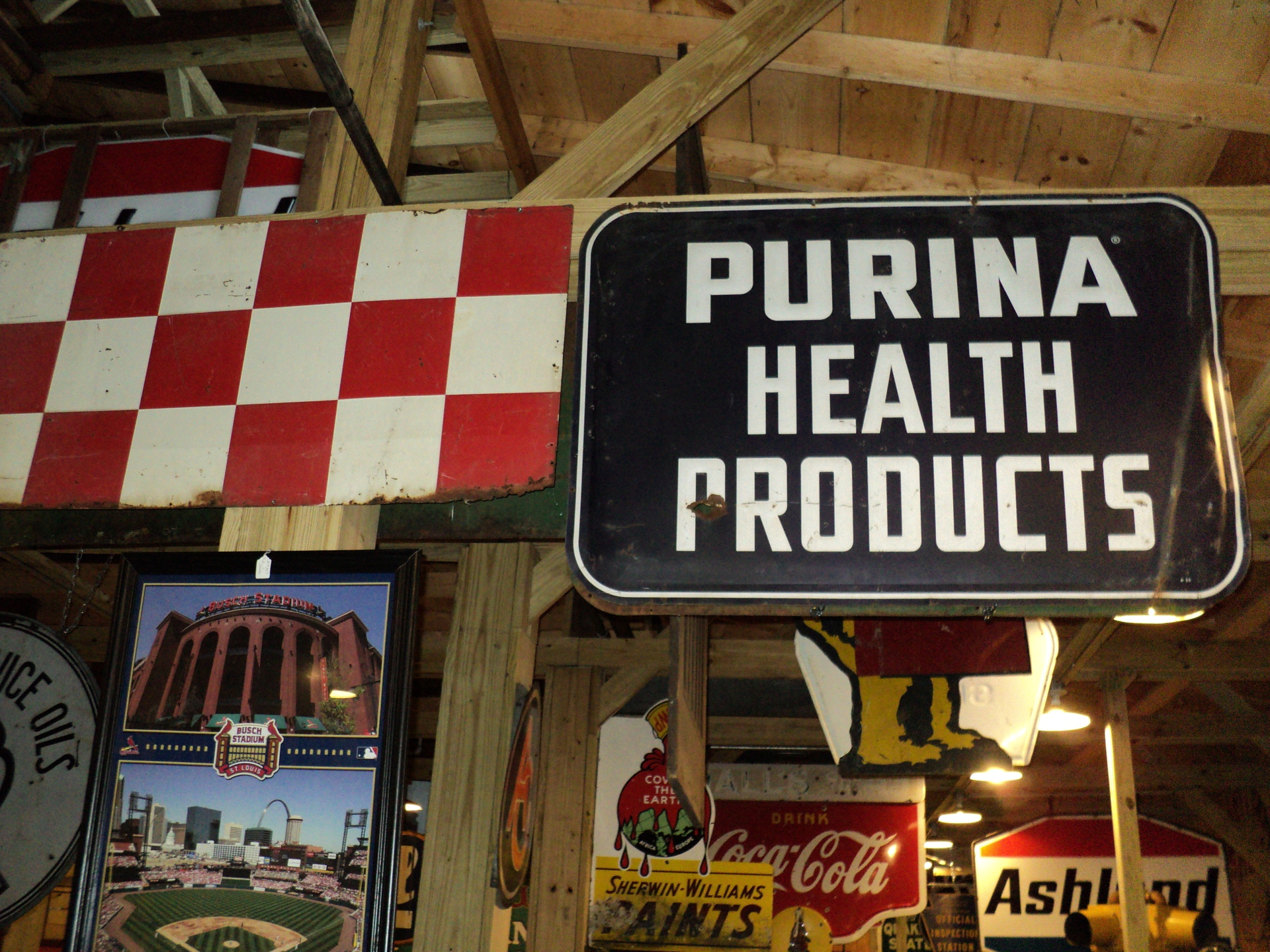 Purina Products Sign