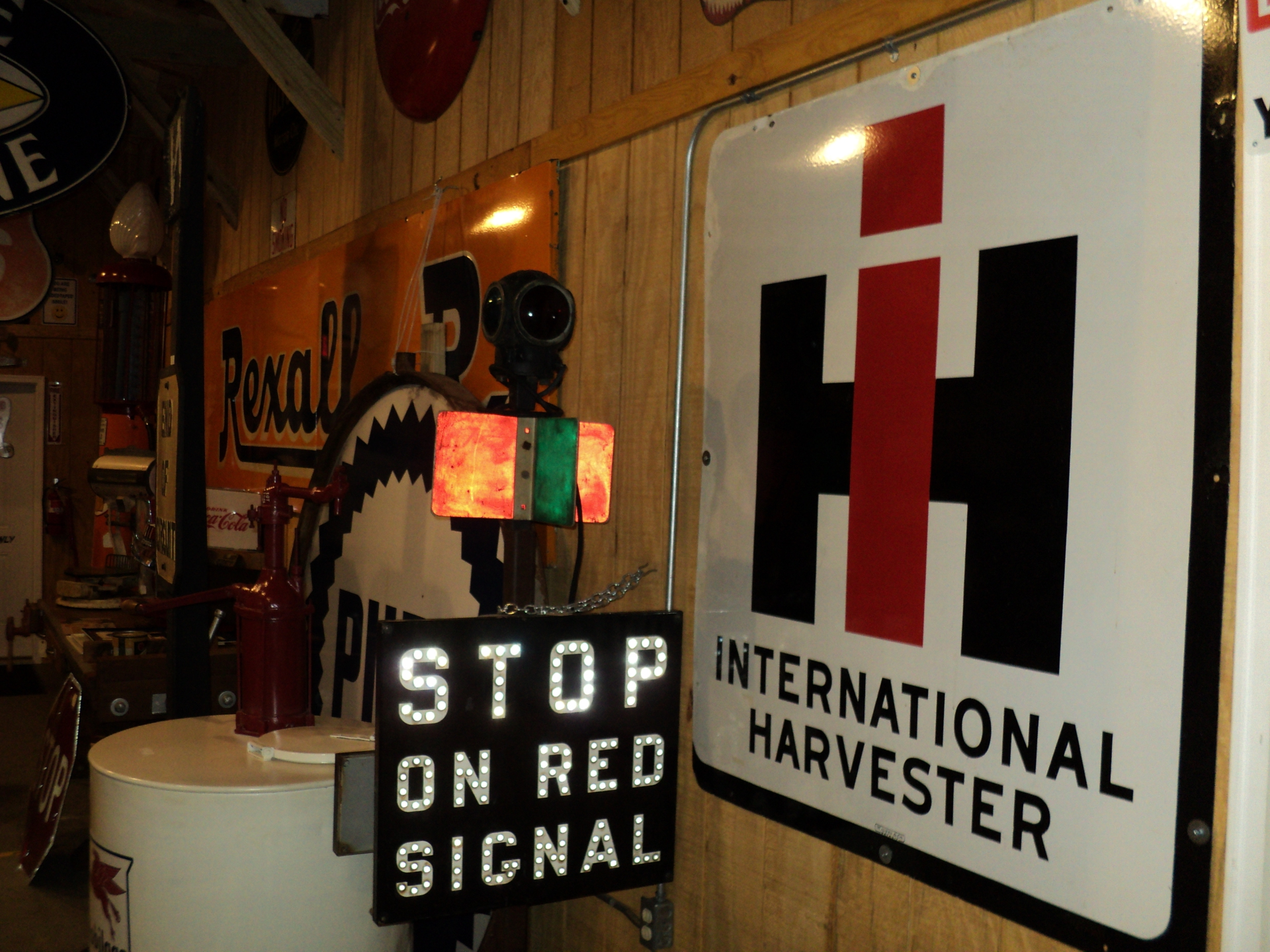 Very Rare International Harvester Sign